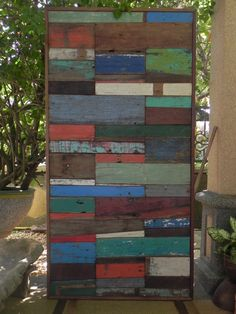 Handmade Wood and Steel Partitions / Room Dividers by MaailayArt