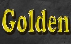 Awesome Gold Text Effect in Adobe Photoshop