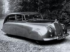 1947Rolls-Royce Silver Wraith Sedanca de Ville by Hooper