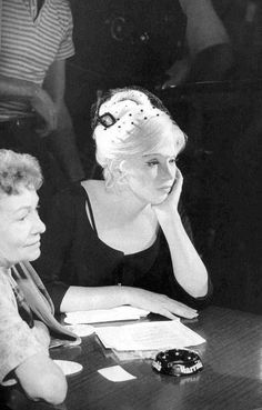 Marilyn Monroe Collection : on the set of The Misfits