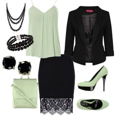 mint by rajma-dee-johnson on Polyvore featuring polyvore fashion style Dorothy Perkins Boohoo Être Radley B. Brilliant Bling Jewelry Pearlz Ocean