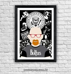 Poster Kid Vinil Rock