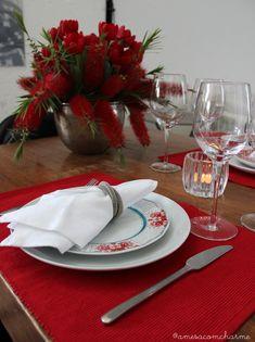 Mesa para o Dia dos Namorados | Valentine's day table setting