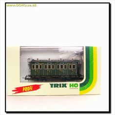 TRIX 23727 - Royal Bavarian K.Bay.Sts.B. 2nd Class Compartment Passenger Coach on eBid United Kingdom