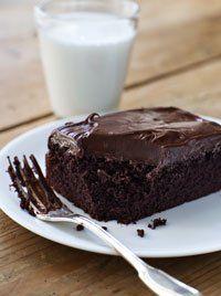 Chocolate Cake with Mocha Frosting (Ina Garten)