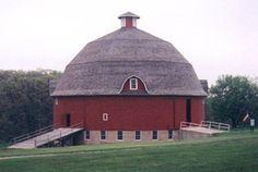 'The Round Barn'.