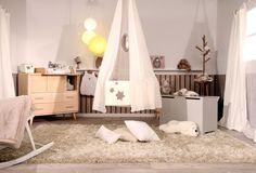 #chambre #bebe #cocooning @L'Effet Charlotte  #tevadeco