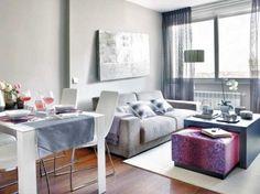 Comparte tus Trucos! Cómo decorar un salón pequeño : x4duros.com