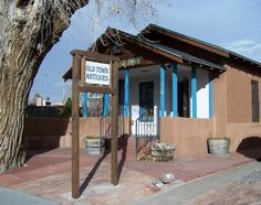 Eclectic offerings including New Mexican antiques, Native American pottery, jewelry, folk art, relics and more.