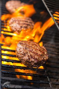 Delish!!!!  Avocado Stuffed Burger | Civilized Caveman Cooking Creations