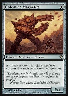 Golem de Magnetita / Lodestone Golem