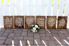 Rustic Wedding Signs 1 Corinthians 13 by MulberryMarketDesign