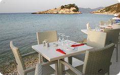 Piccolo Porto Restaurant located in the heart of Kokkari Village