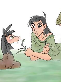 Kuzco and llama by shibu - The Emperor's New Groove Emperors New Groove, Inca, Artwork Pictures, Disney Fan Art, Disney Pictures, Dreamworks, Pixar, Disney Characters, Fictional Characters