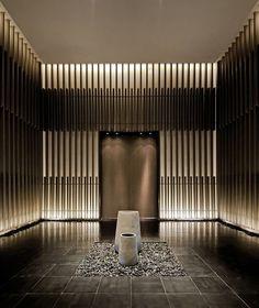 Hotel in jiangyin spa interior, boutique interior, interior walls, interior light Lobby Design, Design Entrée, Interior Design, Design Ideas, House Design, Design Interiors, Interior Modern, Brand Design, Luxury Interior