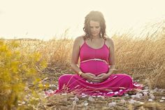 Beautiful Maternity Shot. Pink long dress & thin cheetah belt. Perfect spot in Charleston for this !