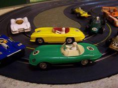Kids Growing Up, Jaguar E Type, Slot Cars, Diecast, Miniatures, Toys, Vintage, Rolling Carts, Antique Toys