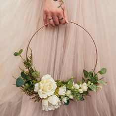 Simple Wedding Bouquets, Diy Wedding Flowers, Bridal Flowers, Flower Bouquet Wedding, Rose Wedding, Floral Wedding, Wedding Wreaths, Non Flower Bouquets, Bridemaid Bouquet