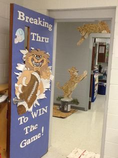 door decoration ideas for homecoming google search craft ideas