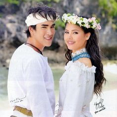 Miss this lakorn with the lovely koojin YADECH, drama name is Game Rai Game Ruk aka Evil Game Love Game, yaya and nadech Ny Ny, Sweet Couple, Superstar, Flower Girl Dresses, Actresses, Actors, Couples, Wedding Dresses, Cute