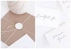 Questo bianco sulla carta da pacchi è spettacolare