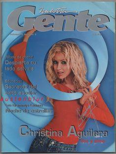 CHRISTINA AGUILERA The Voice NUESTRA GENTE Genie in a Bottle POP Spanish Espanol