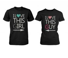 $34.99 for both shirts combined!  http://www.funnycoupleshirts.com  #matchingcoupleshirts #coupleshirts #couples #cutecouples