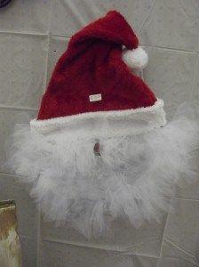 Santa Door Hanger / Christmas Craft Fair http:/cookinandcraftin.com