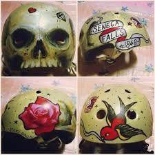 roller derby helmet custom graphics