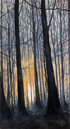 Daybreak  60x32 oil on canvas  Ashley Wiltshire Spotswood