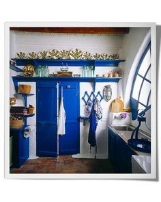 1000 images about greek style kitchens on pinterest for Kitchen colors with white cabinets with john lennon wall art