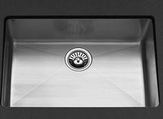 KWC S.10.X1.08 Purismo Undermount Single Bowl Kitchen Sink - Stainless Steel
