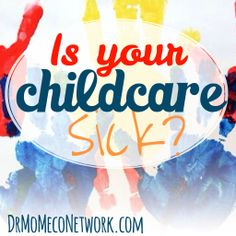 Is your Childcare SICK? Parents of children attending childcare, this is a must! If you are like many parents who require childcare services, but are wondering if it is the safest, healthiest place, your not alone. Do you wonder why your child is sick more often since attending childcare? Would like to learn how to spot safe, quality childcare for your child?  https://www.anymeeting.com/AccountManager/RegEv.aspx?PIID=EA53DA89824738&rslt=468df893-e7ca-4882-88ab-4afdd25c9416