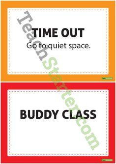 Name Behaviour Chart v2 Teaching Resource