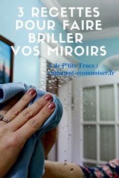 Recttes pour faire briller les miroirs naturellement