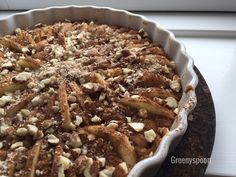 Danish apple cake Wholewheat and as healthy as cake can be vegan