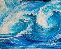 #promote #fineartamerica #fineart - The Waves - Teresa Wegrzyn