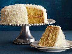 Coconut Cake recipe from Ina Garten via Food Network