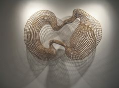 Cycle 2, Version 3 Sopheap Pich  (born Battambang, Cambodia 1971)  Date:     2008 Culture:     Cambodia Medium:     Rattan and wire Dimensions:     80 x 53 x 12 in. (203.2 x 134.6 x 30.5 cm) Classification:     Sculpture Credit Line:     Lent by a private collection Rights and Reproduction:     © The Artist and Tyler Rollins Fine Art  This artwork is part of Cambodian Rattan: The Sculptures of Sopheap Pich  This artwork is currently on display in Gallery 251