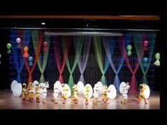 Cücelerim Yıl Sonu Gösterisi - YouTube Balloon Tower, 5th Grade Graduation, Blog Backgrounds, Stage Decorations, Talent Show, Appreciation Gifts, Musical, Youtube, Backdrops