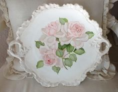 Tray with roses