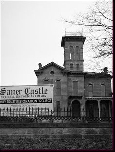 Real Haunted Houses Sauer Castle  As. A. Kid. I. Grew. Up. Roming this. Place;-$