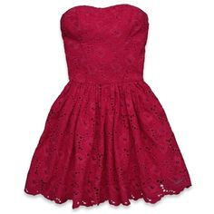 I don't even shop abercrombie and fitch, but I am in love with this dress!