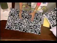 How to sew decorative pillow covers in just a few minutes. - YouTube