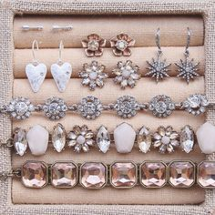 Jewelry box must-haves (great for gifting + getting this Valentine's Day!) – available now on my c+i boutique!