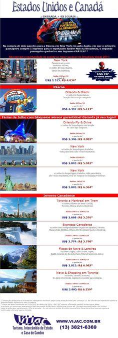 Estados Unidos, Canada e Spider-Man - www.vijac.com.br