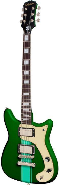 Epiphone Wilshire Phantomatic Emerald Green