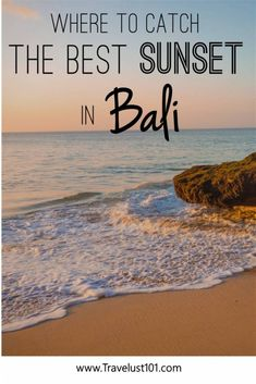 You can catch many stunning sunsets in Bali but not while soaking in natural jacuzzis! Be sure to check out Tegal Wangi Beach and this post for details! Bali Travel Guide, Solo Travel Tips, Travel Guides, Travel List, Vietnam, Thailand, Single Travel, Best Sunset, Tours