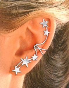 Boucle d'oreille étoile
