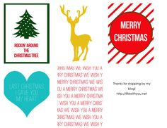Project Life Christmas Journaling Cards {Freebie}